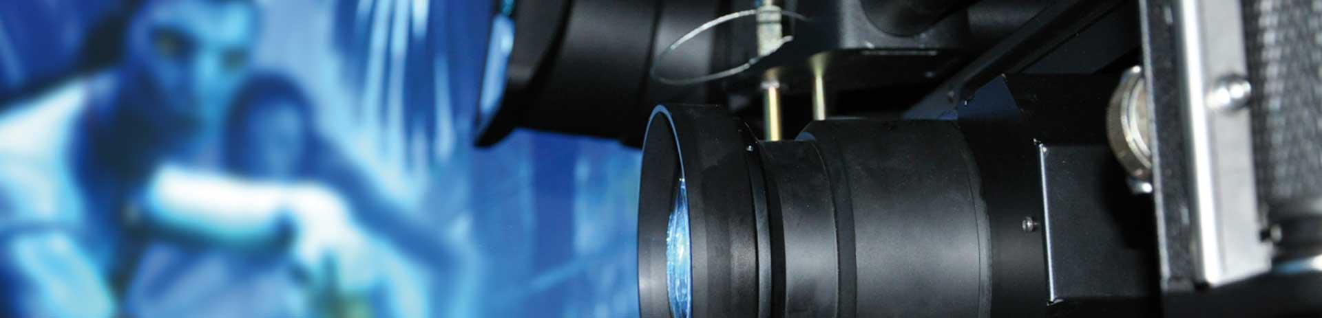 Hintergrundbild Projektoren Nahaufnahme